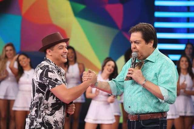 Wesley Safadão e Fausto Silva
